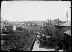 Bakhús Apóteksins reist 1830-1915